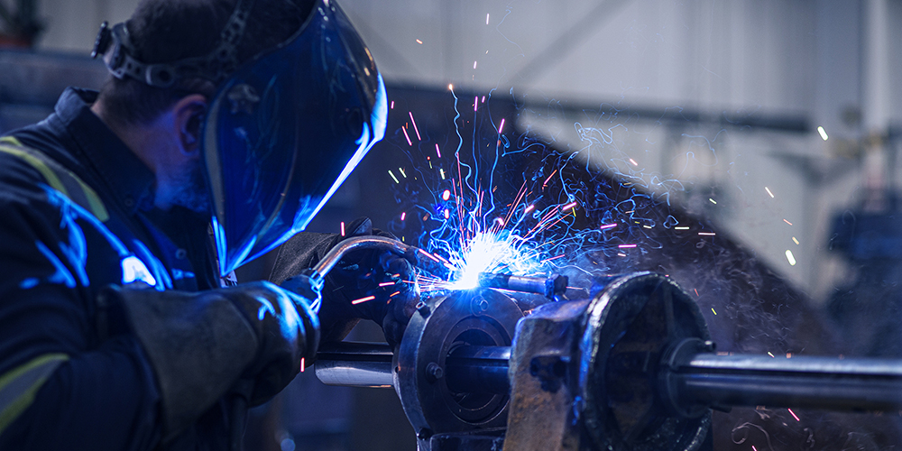 Welding photo from complete hydraulic