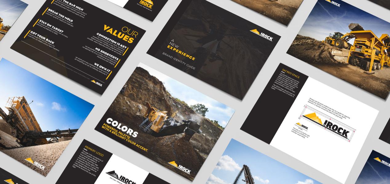 IROCK brand guide image