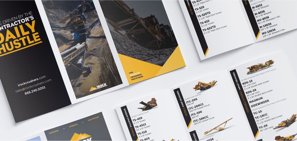 Tri-Fold product branding