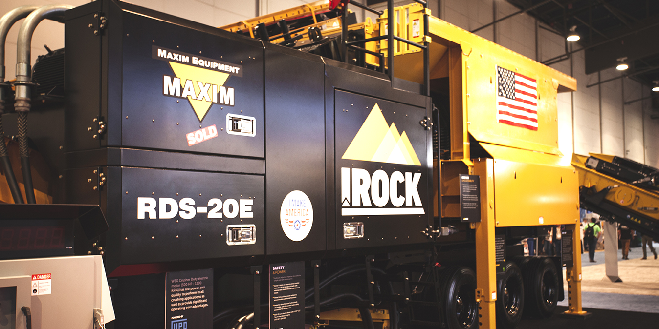 IROCK equipment at a Trade Show