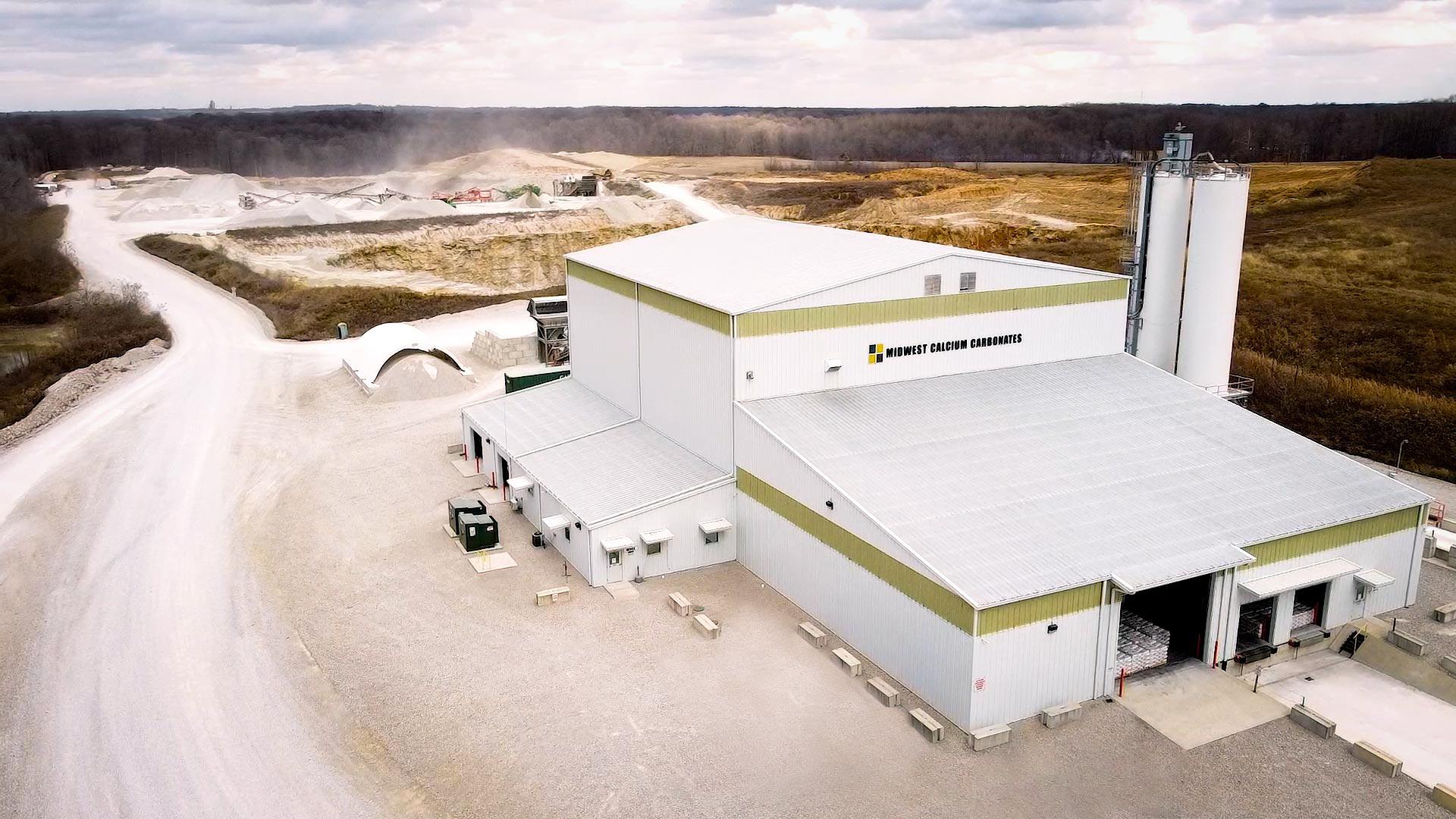 midwest calcium carbonates facility