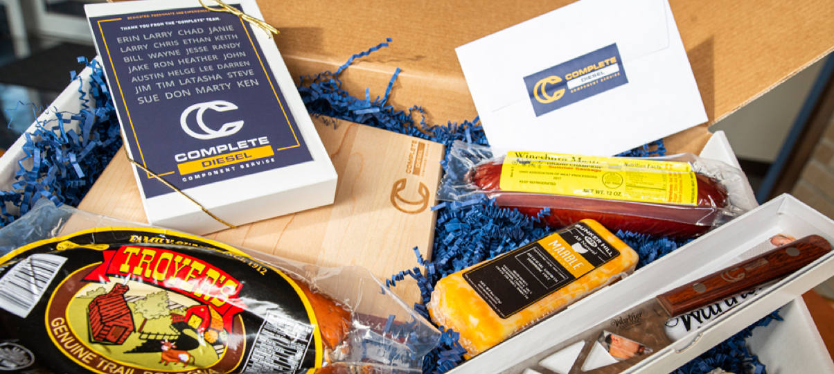 Complete gift box