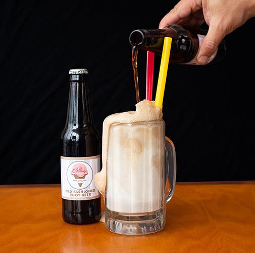 Root Beer Float at Pav's Creamery