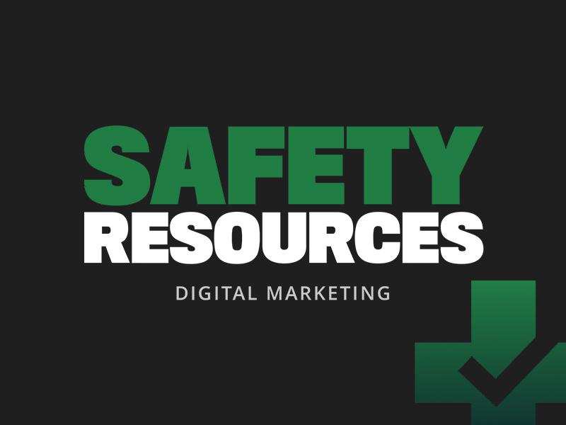 Safety Resources digital marketing image