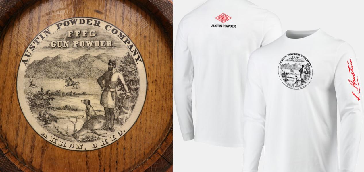 Austin Powder shirt design