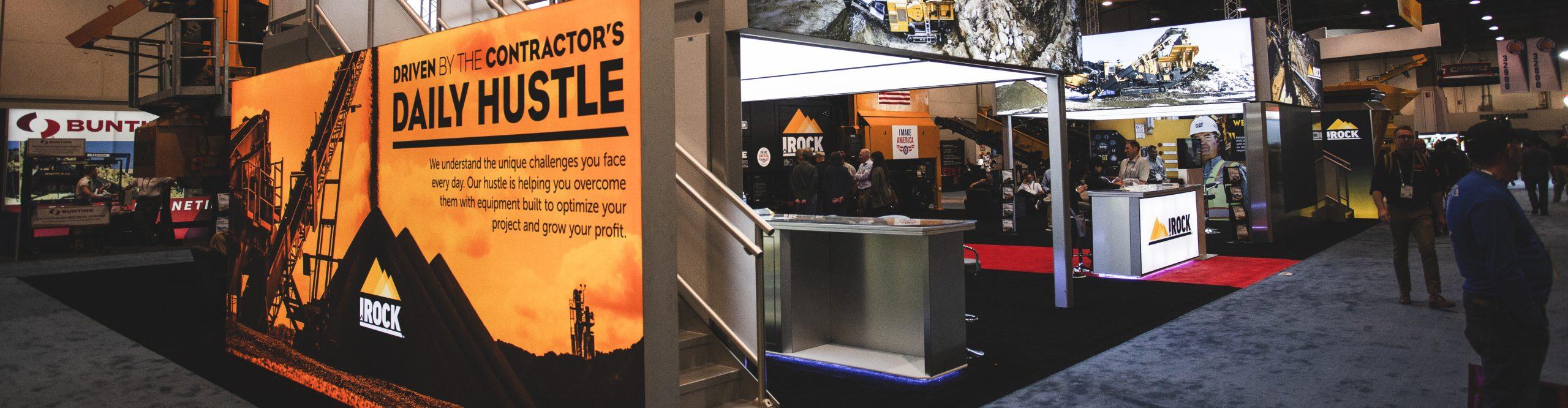 IROCK crushers trade show header image