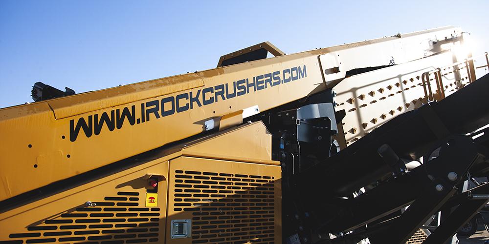 IROCK equipment with website