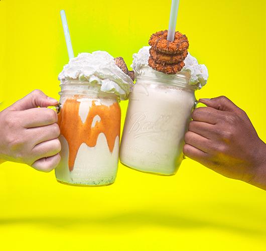 Pavs milkshakes