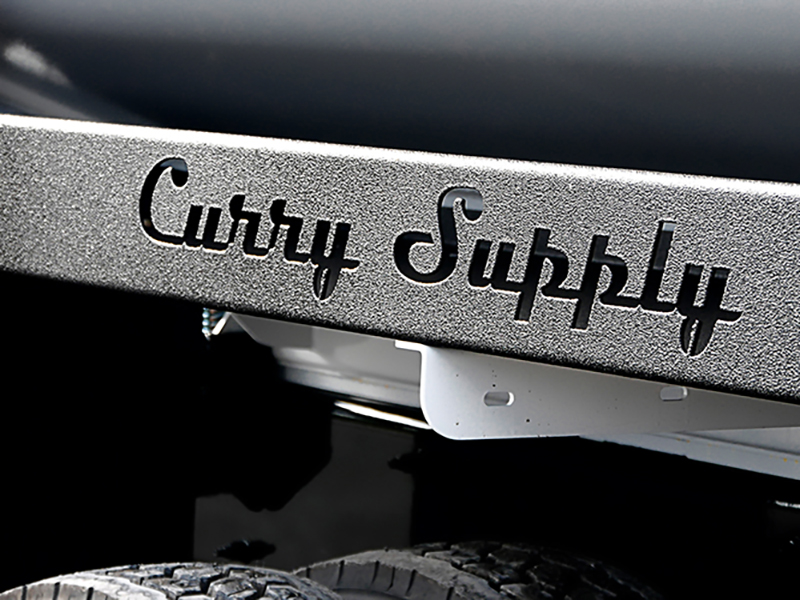 Cover aPhoto for Curry Supply, show off the name plate