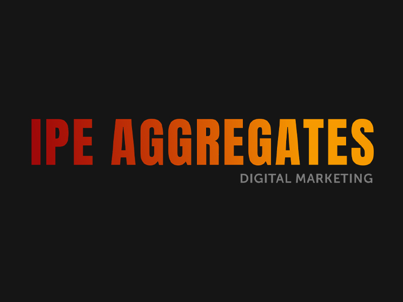 IPE Aggregates cover photo for the digital marketing page