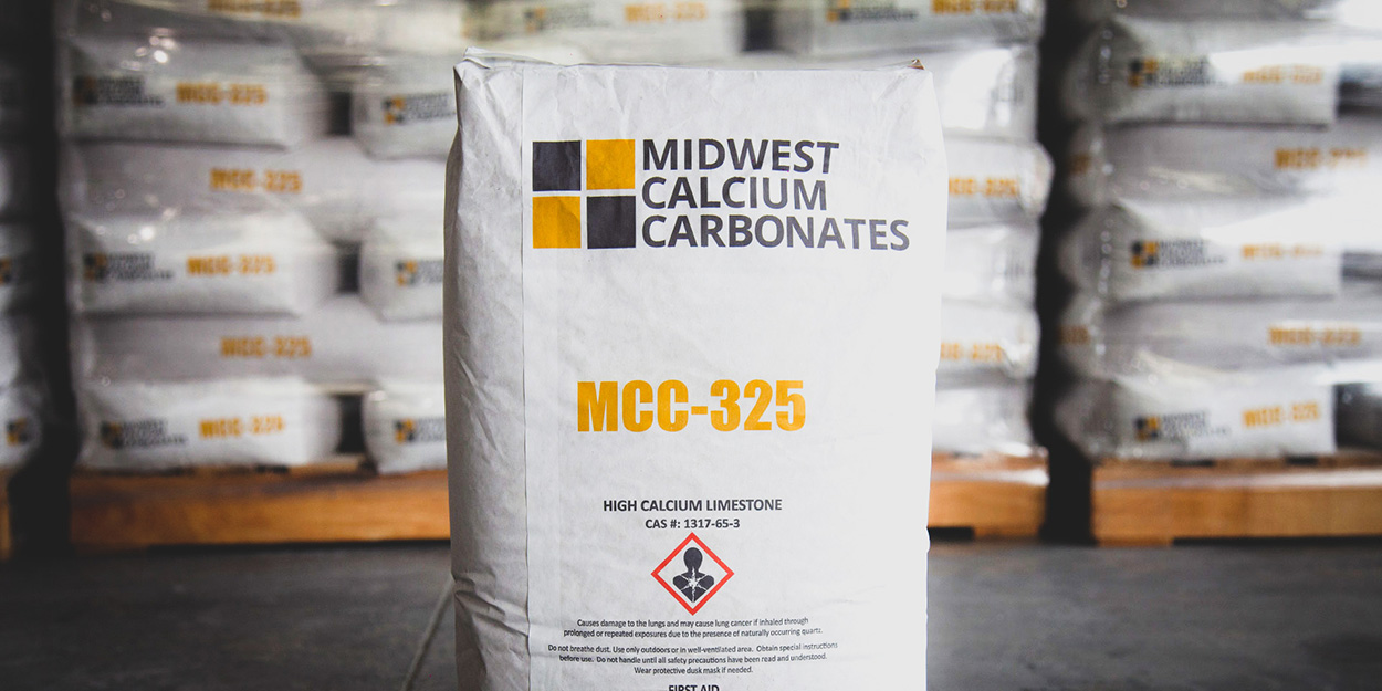 A Calcium Limestone product from a US Aggregate location