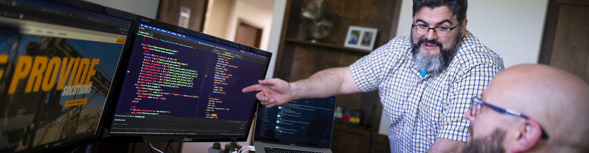 Web Development header image